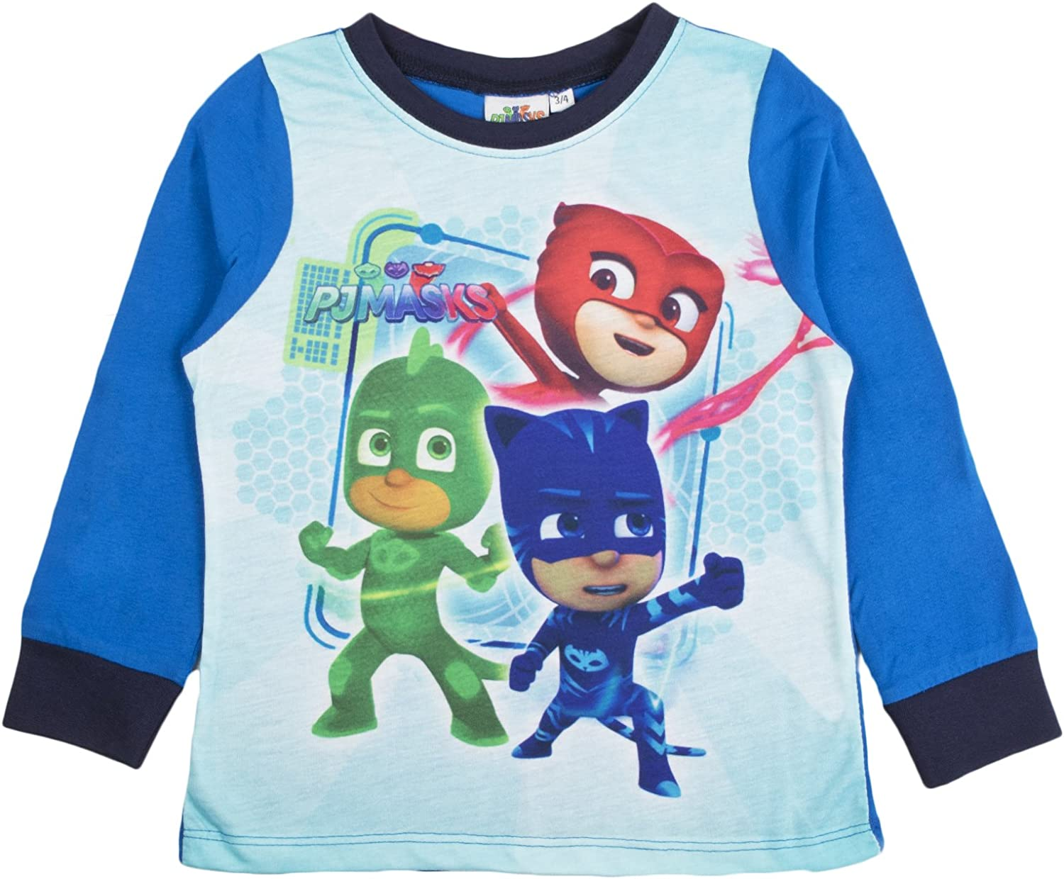 Official Boys PJ Masks Ready For Action Pyjamas PJMASKS  Size 18 Mths 5 Years