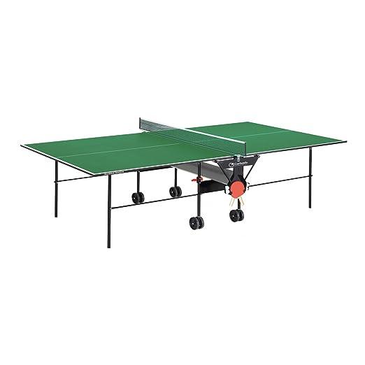 32 opinioni per GARLANDO TRAINING INDOOR VERDE Tavolo ping pong per uso interno + 4 racchette +