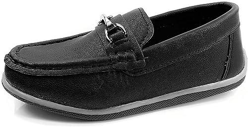 Amazon.com: Renacido niños barco zapatos de vestir Mocasines ...