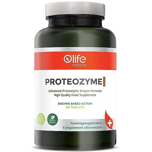 Amazon.com: PROTEOZYME, Enzimas Digestivas de Alta Calidad ...