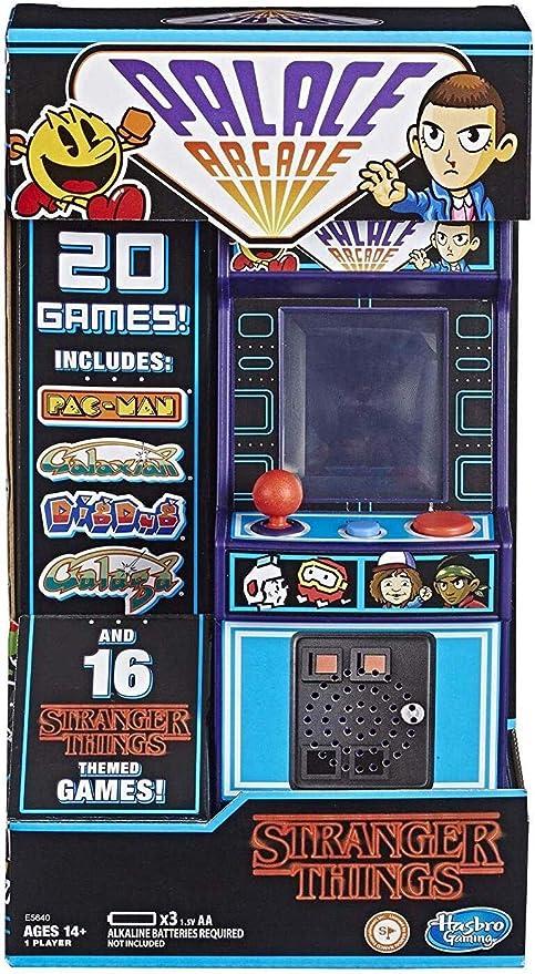 Amazon.com: Hasbro Gaming Stranger Things Palace Arcade Handheld Electronic Game Ages 14 & Up: Home Improvement