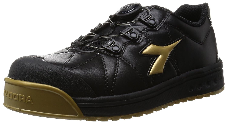 [ディアドラユーティリティ] DIADORA UTILITY 作業靴 スニーカー フィンチ B018XIHNFK ブラック/ゴールド/ブラック 26.5 cm