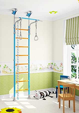 Amazon.com: Kids Playground Play Set for Floor & Ceiling / Indoor ...