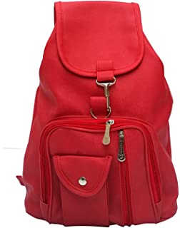 7a8d985856f5 DAMDAM Stylish Leather Girls school bag travel bag college bag girls ...