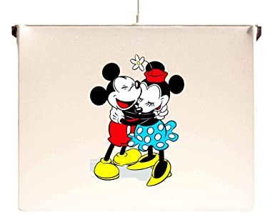 Lámpara de techo con diseño de Mickey y Minnie Mouse: Amazon ...