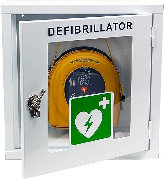 Medx5 Upgrade 2019 100db Universal Defibrillator Metall Wandkasten Für Innen Pulverbeschichtet Für Alle Aed S Mit Alarm Drogerie Körperpflege