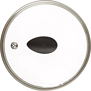 """8"""" Earth Frying Pan Lid in Tempered Glass, by Ozeri"""