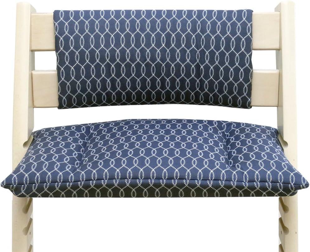 coussins set Junior pour chaise haute Stokke Tripp Trapp Blausberg Baby - r/éducteur de si/ège /écailles gris sans fente au coussin dassise