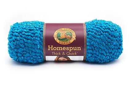 Amazon Lion Brand Yarn 792 444 Homespun Thick And Quick Yarn Opal