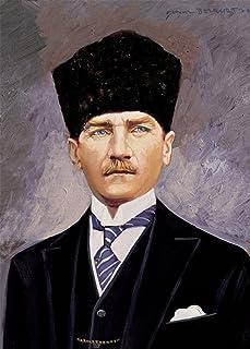 Heidi HEIDI4180Presidente della Repubblica Turca Ghazi Mustafa Kemal (4.884,4cm Art Puzzle (Pezzi)