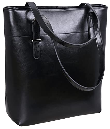 147080302b Image Unavailable. Image not available for. Color  Iswee Women Leather  Satchel Shoulder Bag Large Tote Handbag ...
