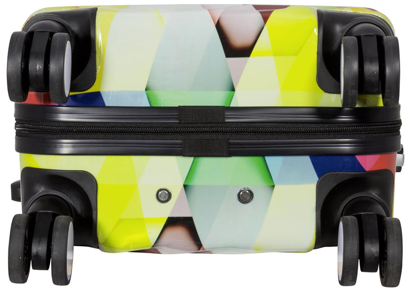 Set Trolley Reisekoffer Reisetrolley Handgep/äck Boardcase PM Kofferset Gep/äckset Polycarbonat ABS Hartschalen Koffer 3tlg American Highway
