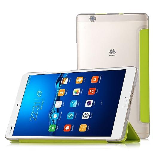 97 opinioni per IVSO Huawei MediaPad M3 8.4 Cover Custodia- Slim Smart Cover Custodia Protettiva