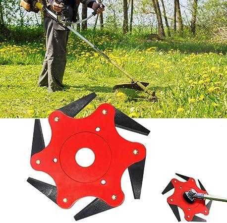 Durable 6 Steel 65Mn Razor UK Lawn Mower  Brush Cutter Head Grass Trimmer Head