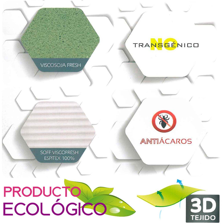 TodosDuermen Colchón Bio Ecologic - Sabicol (Firmeza Firme, 180 x 200 cm): Amazon.es: Hogar