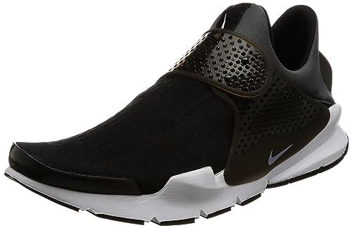 newest 8598d b7913 Amazon.com   Nike Sock Dart KJCRD Black/White/Dark Grey Mens ...