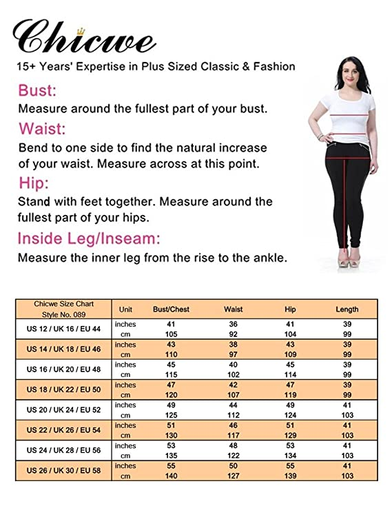 Chicwe Women S Plus Size Printed V Neck Short Sleeves Zigzag Dress Knee Length Casual And Work Dress
