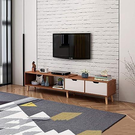 LQtable Mesita pequeña Combinación de Varios Muebles de TV Modernos, Mesa de café, Mueble de televisión retráctil Mini telescópico, Mesa de sofá ensamblada para Sala de Estar (Color : C): Amazon.es: Hogar