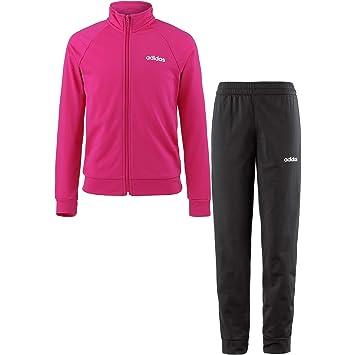 adidas Performance Kinder Trainingsanzug rosa 140: