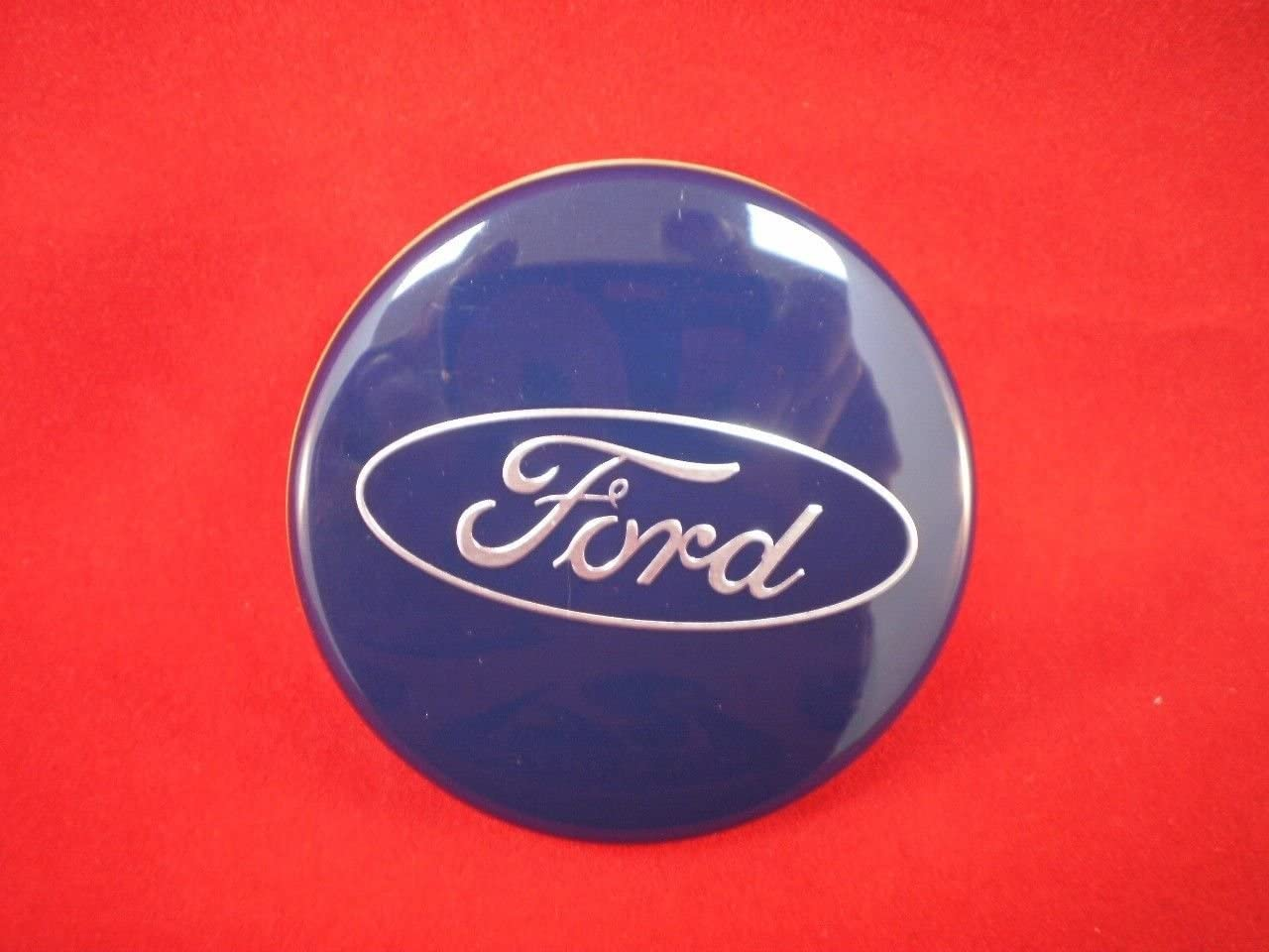 4 BLACK Wheel Center Hubcaps Emblem Rim Hub Cap Cover 54mm for Ford 6M21-1003-AA