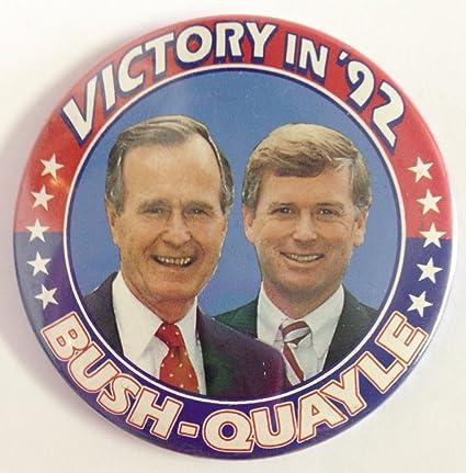 e560ccbed8 Amazon.com: George Bush & Dan Quayle 1992 Republican Political Pin ...