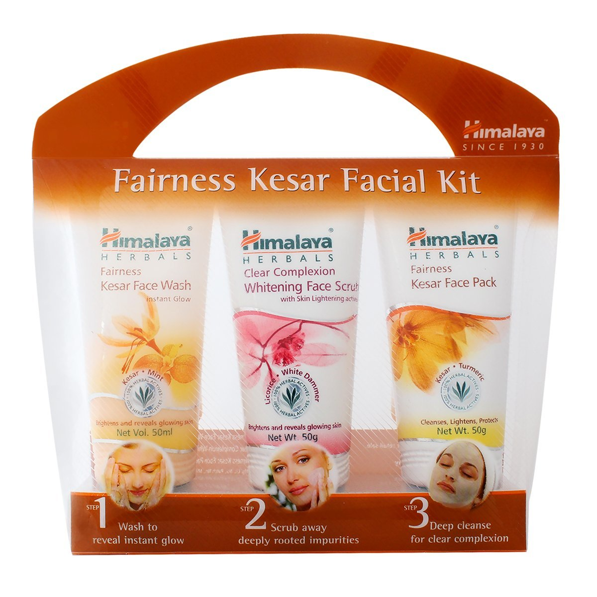 Himalaya Herbals Fairness Kesar Facial Kit, 150g product image