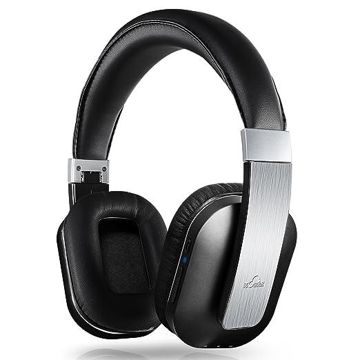 9 opinioni per iDeaUSA Cuffie Wireless con Microfono Integrato Cuffia Chiuse Stereo Pieghevole