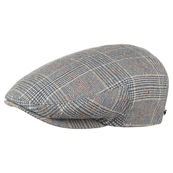 c7a209e6 Stetson Kent Wool Silk Flat Cap Ivy hat: Amazon.co.uk: Clothing