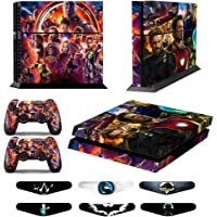 Skins for PS4 Controller - Decals for Playstation 4 Games - Stickers Cover for PS4 Console Sony Playstation Four…