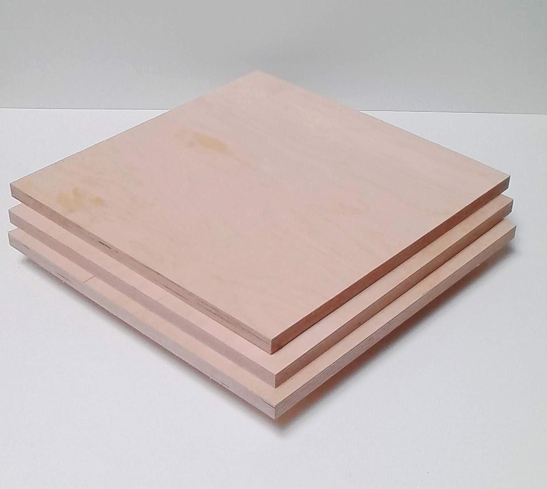 Zuschnitt auf Ma/ß 10x10cm. Sonderma/ße ! 9mm starke Sperrholzplatten Multiplexplatten Holzplatten Tischplatten
