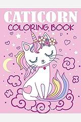 Caticorn Coloring Book Paperback