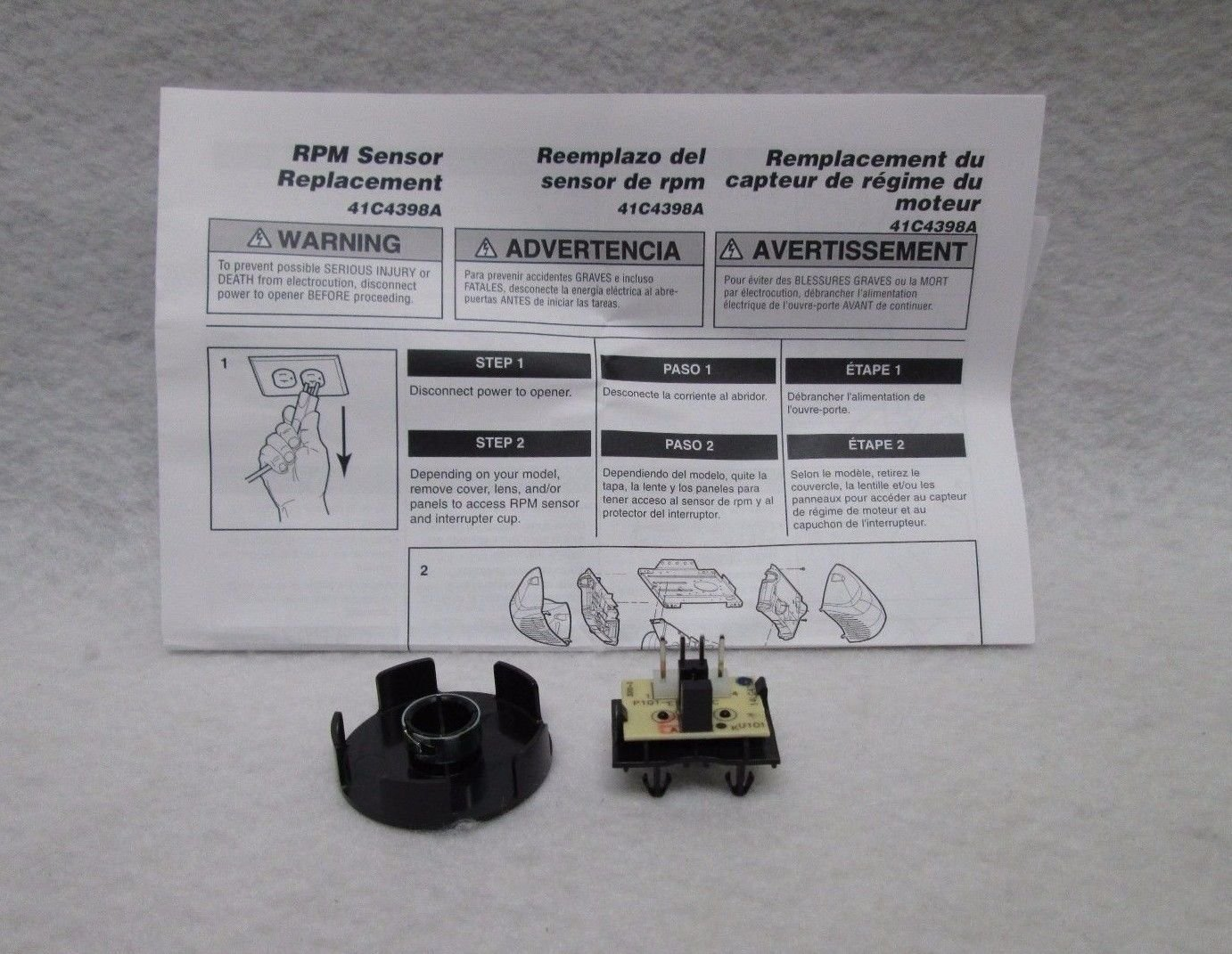Rep your drive gears in liftmaster sears craftsman for Craftsman garage door motor replacement