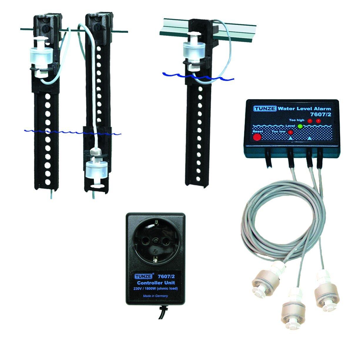 Tunze USA 7607/2 Water Level Alarm with 3-Sensors by Tunze USA LLC