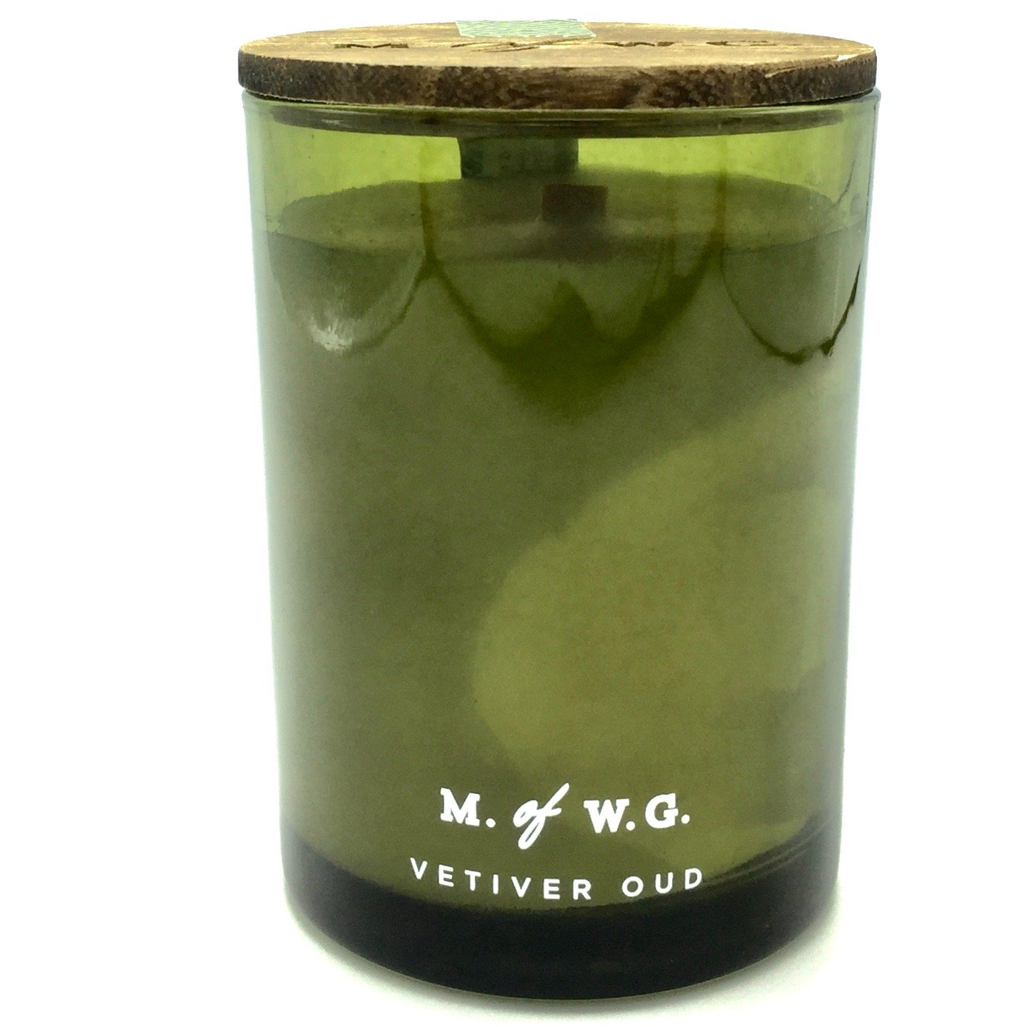 MakersワックスのGoods Vetiver Oud Wood Wick Scented Candle B077F8KW3M