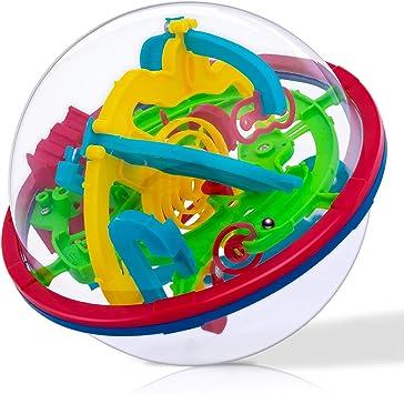 iNeego 3D Laberinto Bola 12cm Pelota Pasatiempos con Laberinto 4.7inch Juegos de Educación Mágica Rompecabezas Intelecto Bola Laberinto para Niños Adultos 12cm/ 4.7inch: Amazon.es: Juguetes y juegos