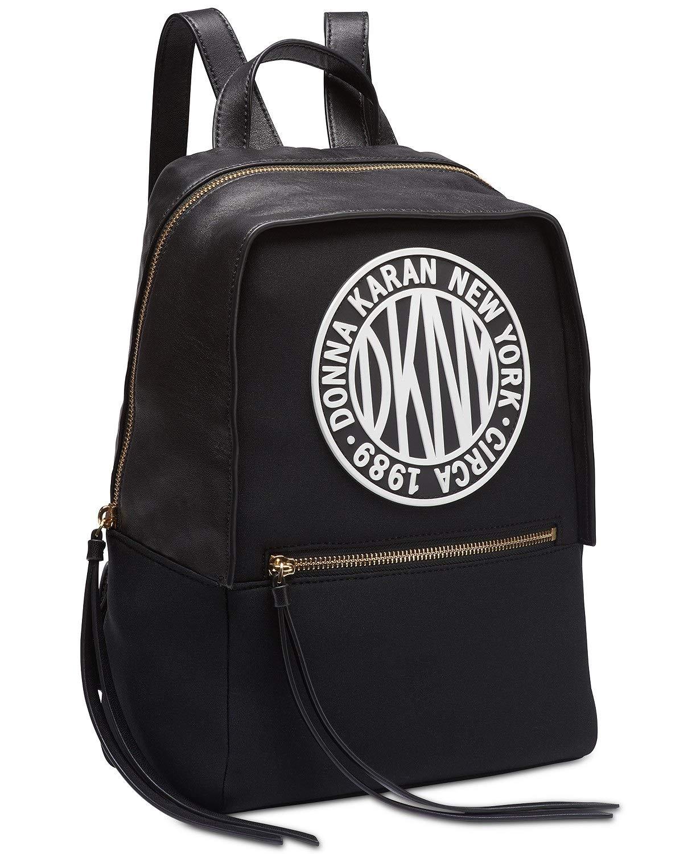 DKNY Tilly Circa Logo Neoprene Backpack by DKNY