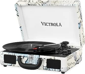 Victrola Suitcase Tocadiscos en maleta Vintage Bluetooth - Retro ...