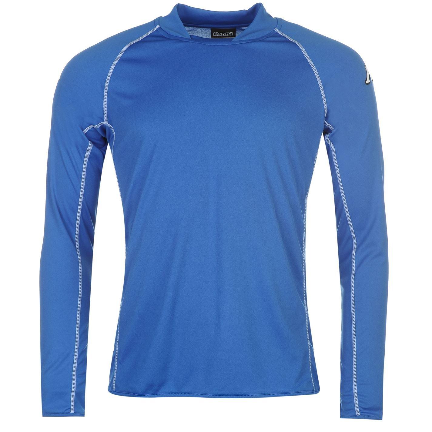 2da196d3148b Kappa Mens Masa Long Sleeve Football T Shirt Tee Top Lightweight Tonal  Stitching