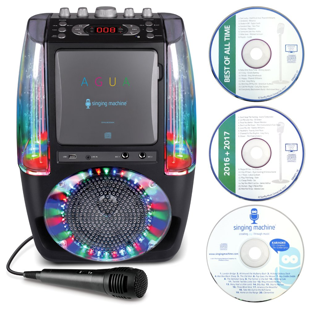Singing Machine SML605BK - Sistema de karaoke, color negro