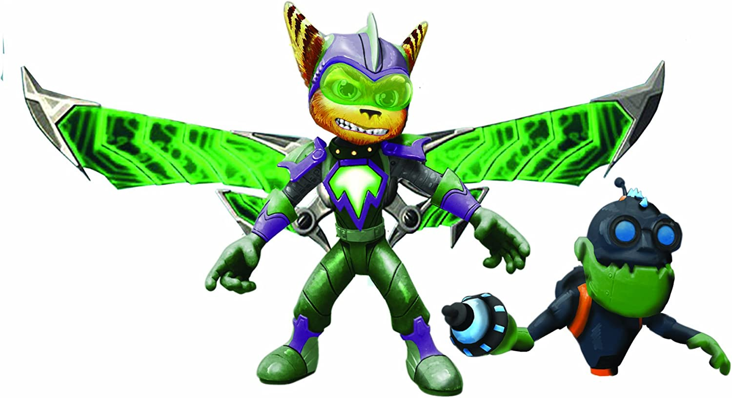 Ratchet Clank Series 1 Armored Ratchet With Mr Zurkon Action