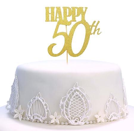 Decoración para tarta de cumpleaños, hecha a mano 50