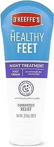 O'Keeffe's K3201501 Healthy Feet Night Treatment Foot Cream, White