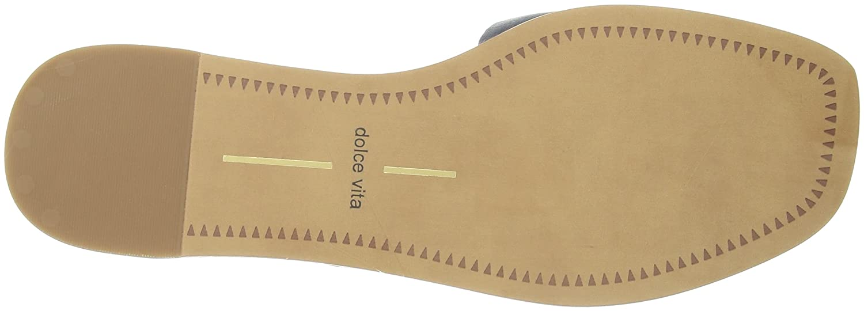 Dolce B078BR92X4 Vita Women's Cato Slide Sandal B078BR92X4 Dolce 8 M US|Metallic/Blue Leather 6bfc4a