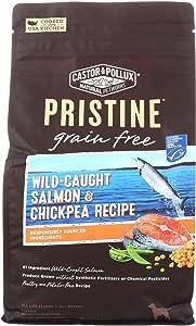 Castor & Pollux 2098002 4 lbs Salmon & Chickpea Pristine Grain Free Dry Dog Food - Case of 5