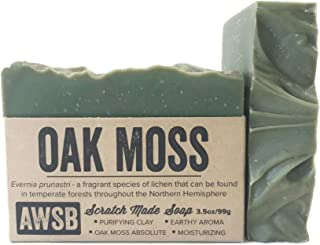 product image for Oak Moss All Natural, Vegan, Organic Bar Soap with Oakmoss, Handmade by A Wild Soap Bar