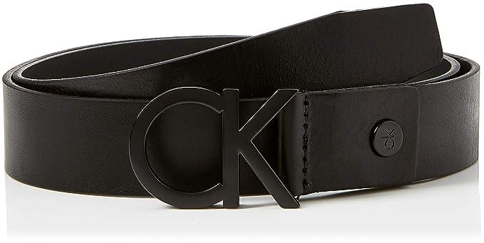 d387cef88d9d Calvin Klein 3.5cm CK Adj Buckle Belt, Ceinture Homme, Noir (Black ...