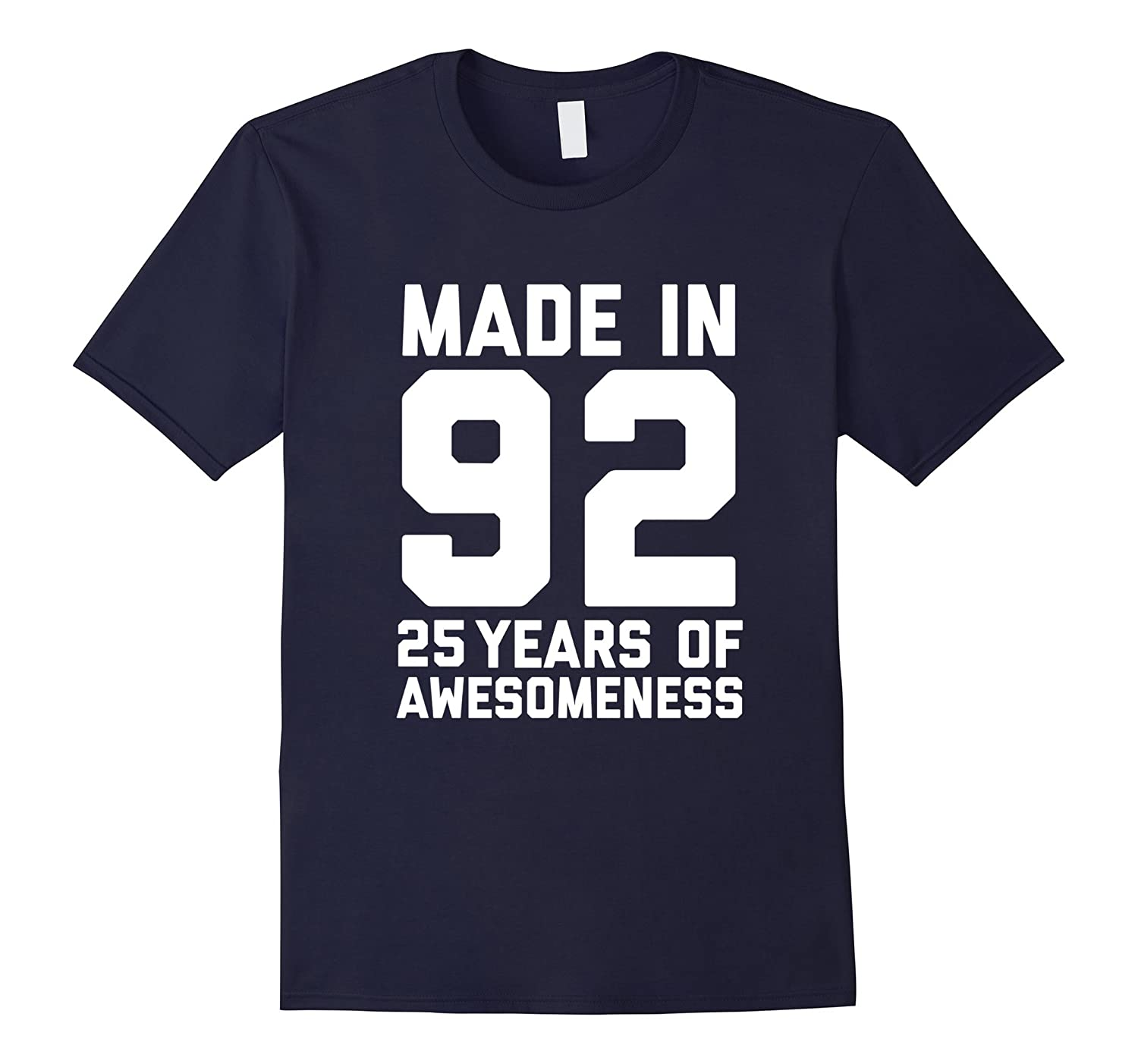 25th Birthday Shirt Gift Age 25 Year Old Mens Womens Tshirt-T-Shirt