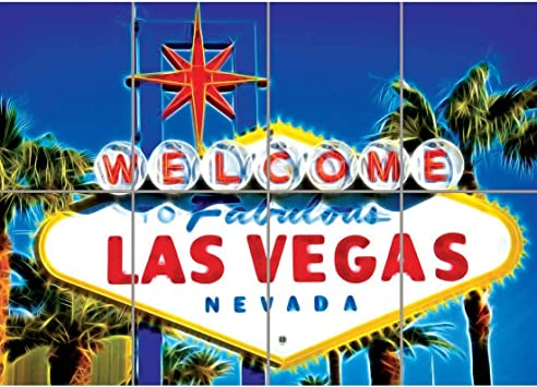 """LAS VEGAS NIGHTS NEW GIANT LARGE ART PRINT POSTER PICTURE WALL 33.1/""""x23.4/"""""""
