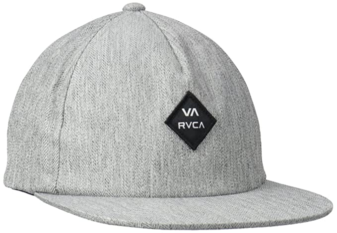 Amazon.com  RVCA Men s Sile Five Panel Hat 2f33f24be67f