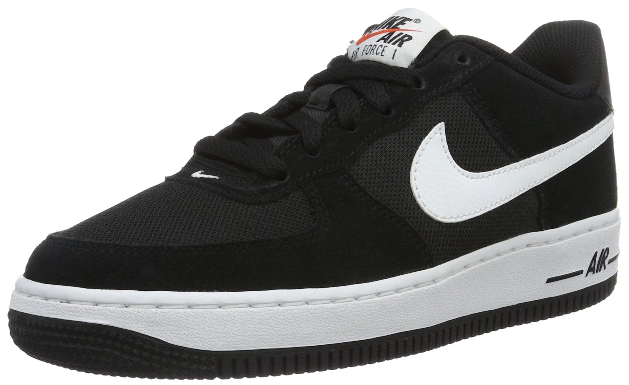 Nike Boy's Air Force 1 Low Basketball Sneaker (5 M US Big Kid) BlackWhite